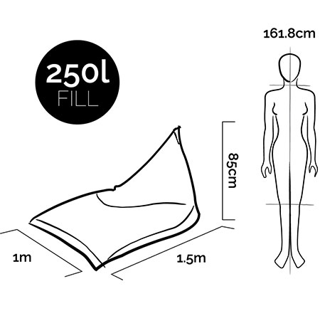 VW_Measurements_LifestyleBeanBag